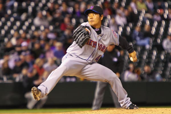 Hisanori Takahashi Pitches