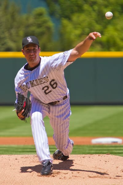 Jeff Francis Pitches