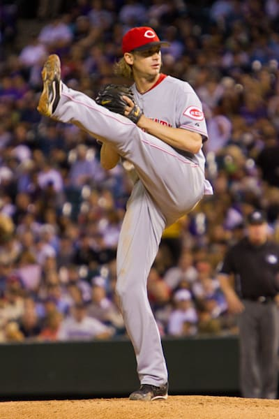 Bronson Arroyo Pitches