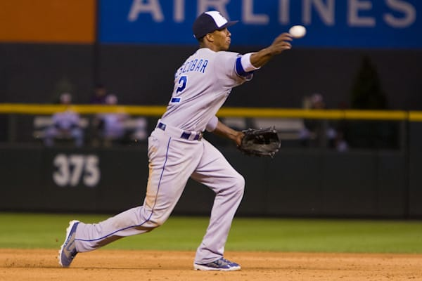 Alcides Escobar Throws