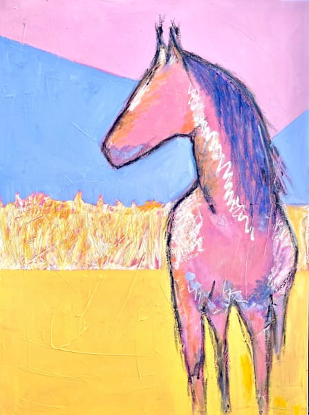 Abstract Horse 1
