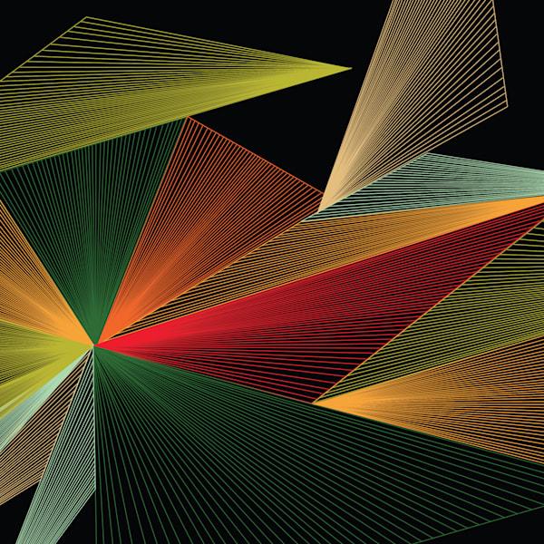 Caroline Geys | 1977 Vortex Op-art | Abstact art