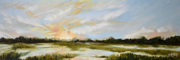 Giclee Print Shem Creek Panoramic