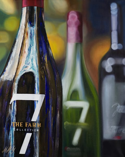 Lucky 7   Part 3 | Original Mixed Media Painting Art | MMG Art Studio | Fine Art Colorado Gallery