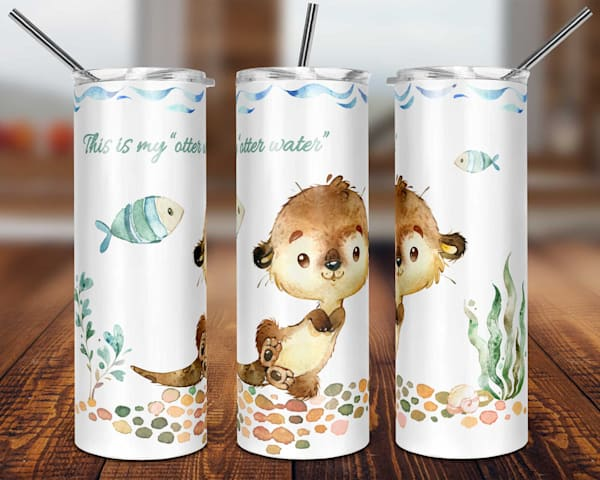 This Is My Otter Water Tumbler
