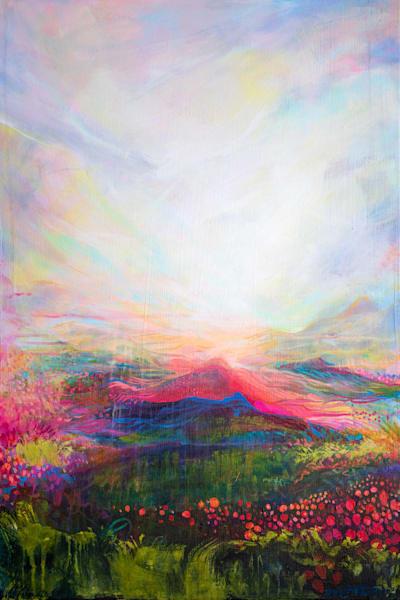 Infinite Light, Original Painting Art | Jessica Hughes Fine Art