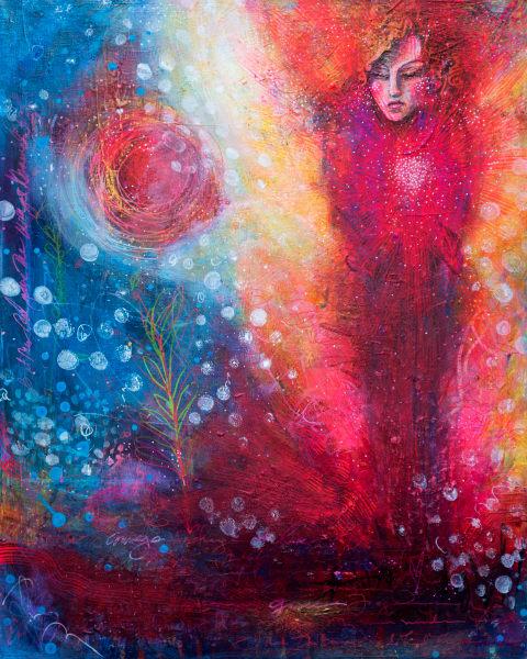 Courage To Change Art | Jessica Hughes Fine Art