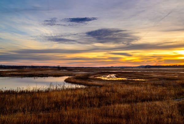 Wetlands Sunrise           Baker Wetlands