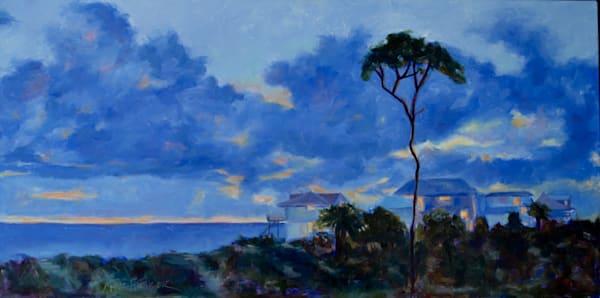 Twilight On The Cape Art   Laura McRae Hitchcock