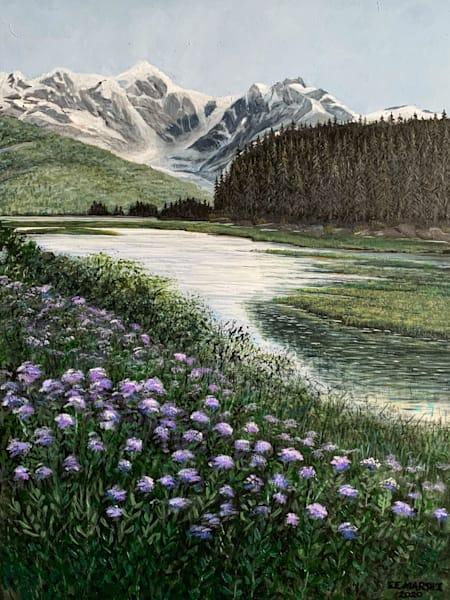 Mountain Flowers Art   Skip Marsh Art