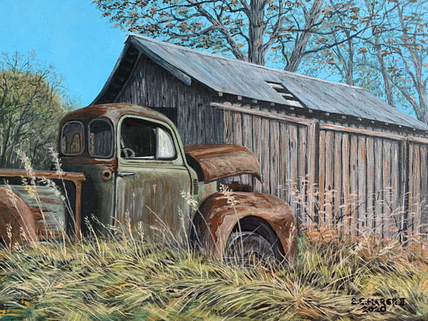 Rusted Old Faithful Art | Skip Marsh Art