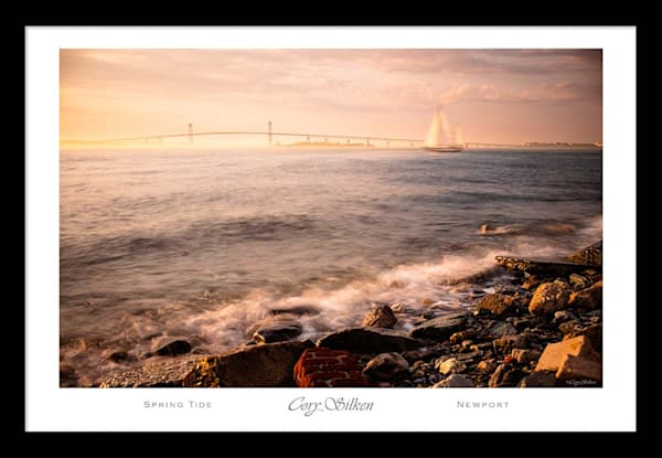 Spring Tide 36x24 Poster   Cory Silken Photography