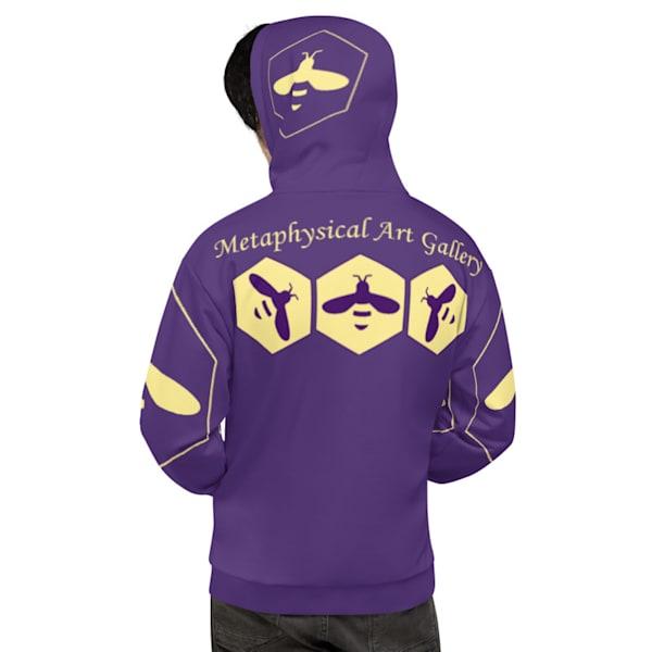 Purple Unisex Hoodie | Metaphysical Art Gallery