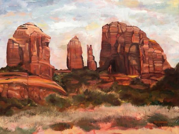 """Cathedral Rock"" original artwork by Emily Gilman Beezley"