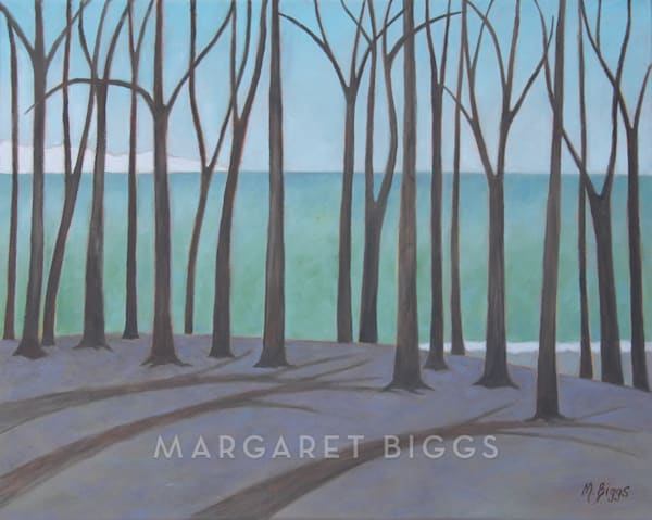 """Edgewater""   Oil On Canvas Art   Margaret Biggs Fine Art"