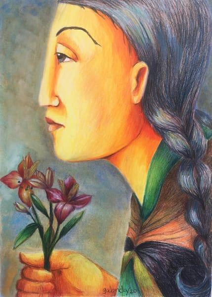 Peruvian Lilies Art | womanoftheandes