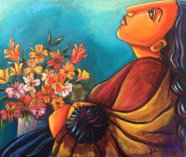 Resting Art | womanoftheandes
