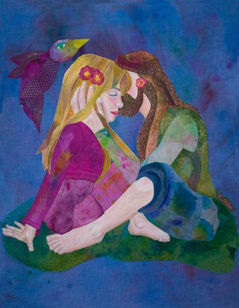 Hippie Love Art | Karen Payton Art