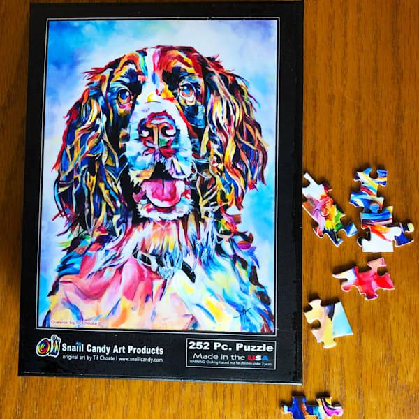 Queenie's  Puzzle Art | Snail Candy Art Studio
