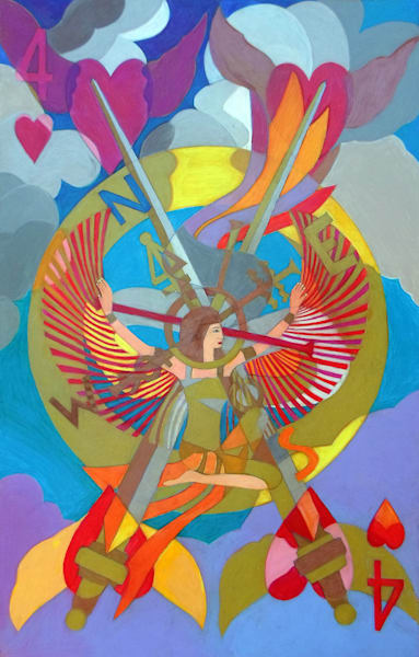 On The Four Winds Does My Heart Fly Art | Metaphysical Art Gallery