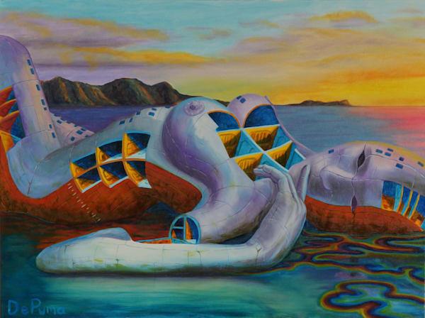 Shipbreaker II painting