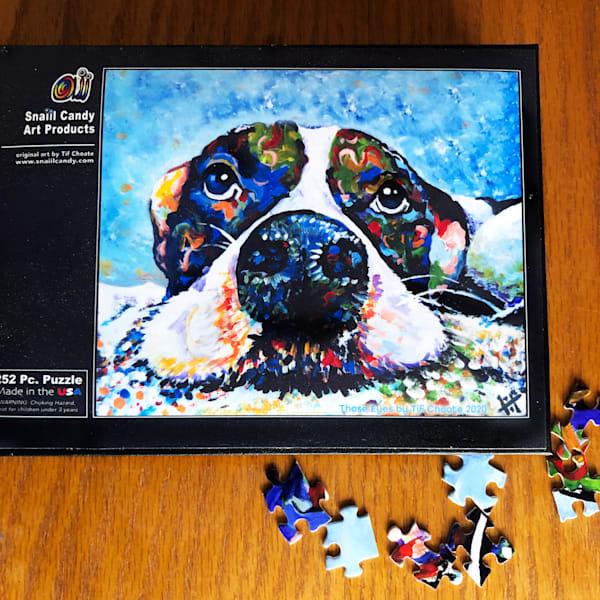Those Eyes Puzzle Art | Snail Candy Art Studio