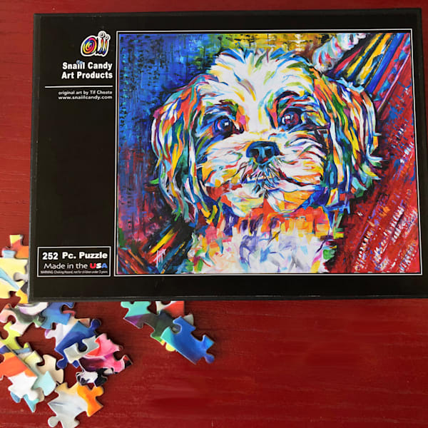 Boo's Puzzle Art | Snail Candy Art Studio