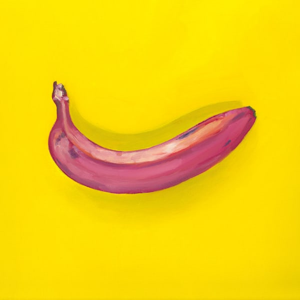 Marsha Carrington banana painting print