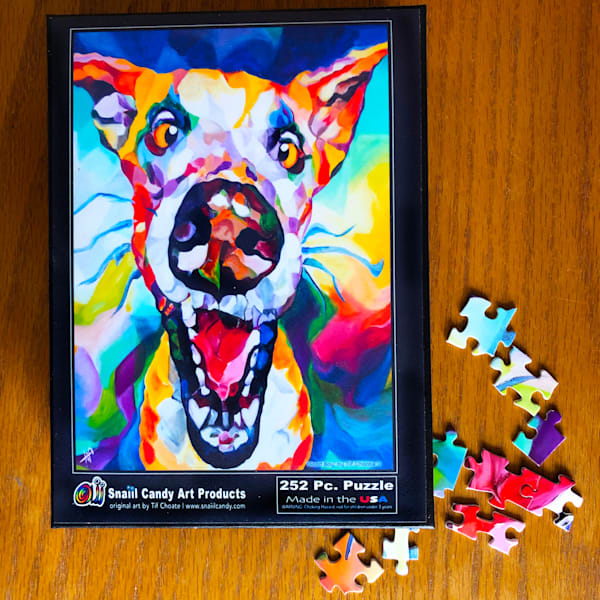 Good Boy's Puzzle Art | Snaiil Candy