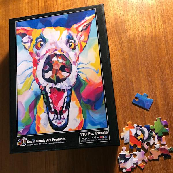 Good Boy Puzzle (Small 110 Pcs.) Art | Snail Candy Art Studio