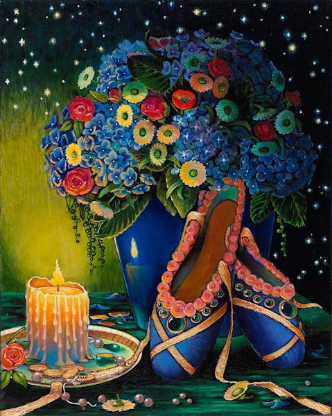 Ballet Slippers Art   miaprattfineart.com