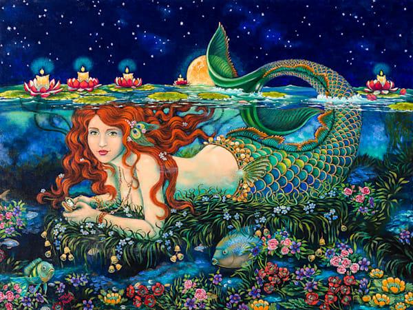 Mermaid Garden Art   miaprattfineart.com