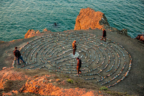 The Labyrinth at Lands End, San Francisco