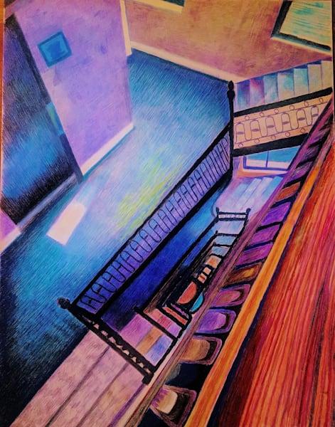 Upper Westside Apt Staircase In Nyc | lencicio