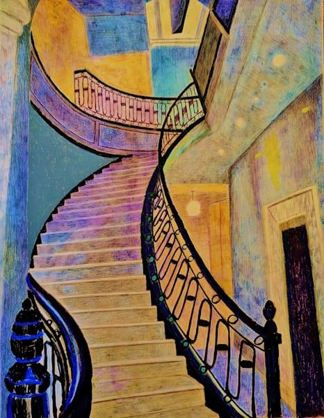 The Astor Staircase Upper Westside Manhattan | lencicio