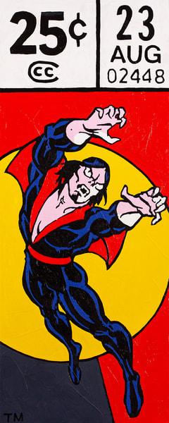 Morbius Print Art   Todd Monk Art
