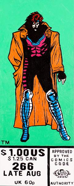 Enter Gambit Print Art   Todd Monk Art