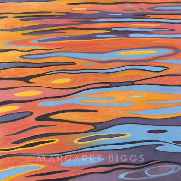 Bayou At Dusk Art | Margaret Biggs Fine Art