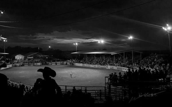Rodeo Lights Photography Art   Harry John Kerker Photo Artist