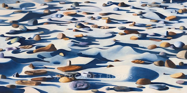 Shadows On The Shore Art   Margaret Biggs Fine Art
