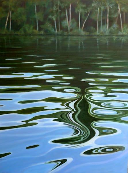 Water Reflections  Art | Lidfors Art Studio