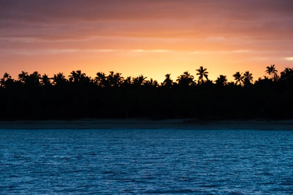 Sunrise Over a Deserted Island is a fine art photograph available for sale.