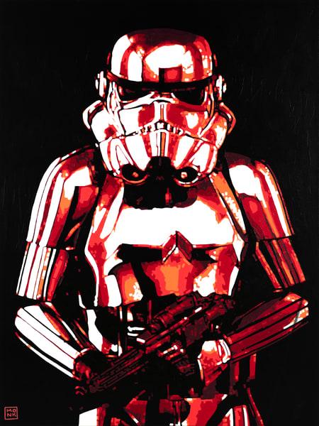 The Trooper Print Art   Todd Monk Art