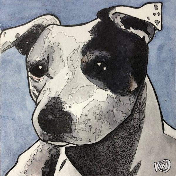 Jack Russell Terrier Art   Water+Ink Studios