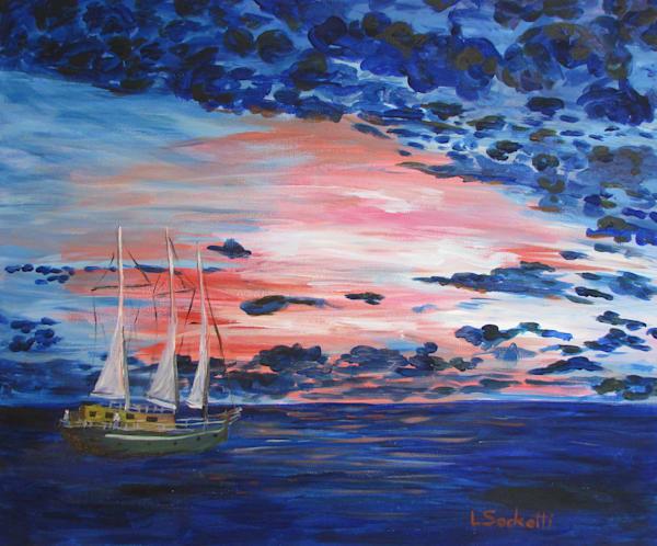 Sailors Delight Art | Linda Sacketti