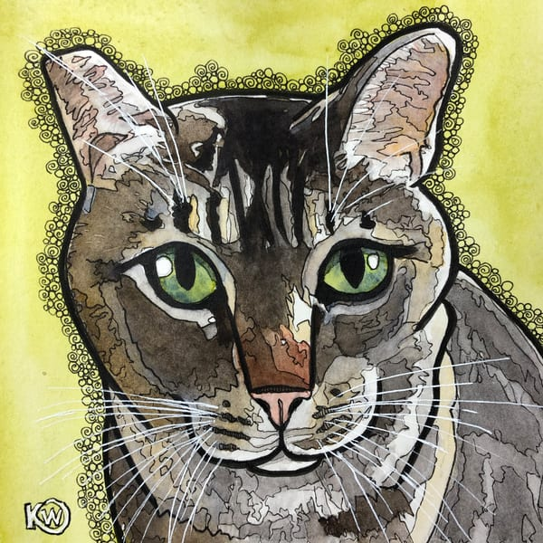 Tabby Art | Water+Ink Studios