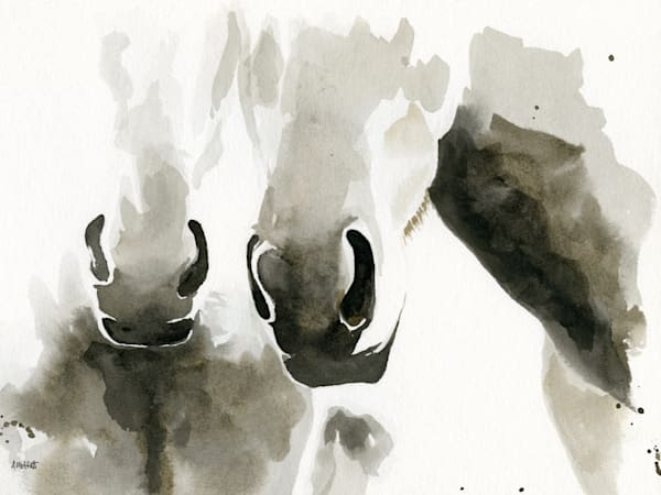 Giclee Print Horse Friends by April Moffatt