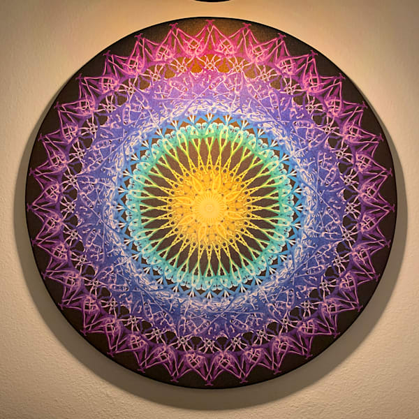 #3 Peacock Arabesque Art | geometricphotographica