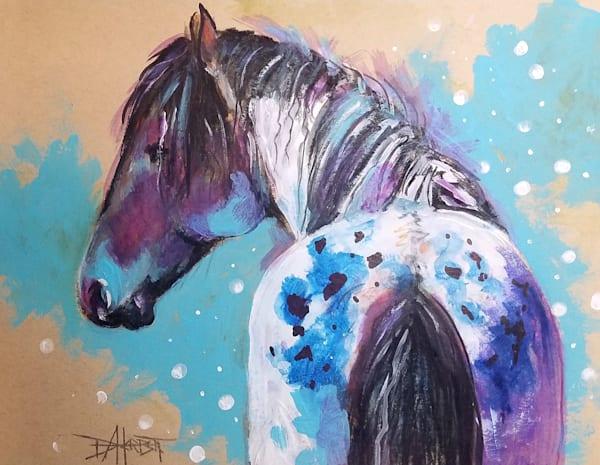 """Appy Blue"" Art | debherbertart"
