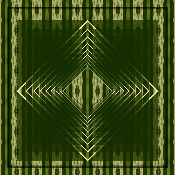 GlisteningGreens print pattern by Debra Cortese Designs